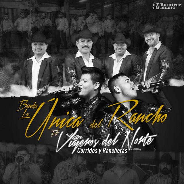 Album cover for Corridos y Rancheras by Banda la Única del Rancho