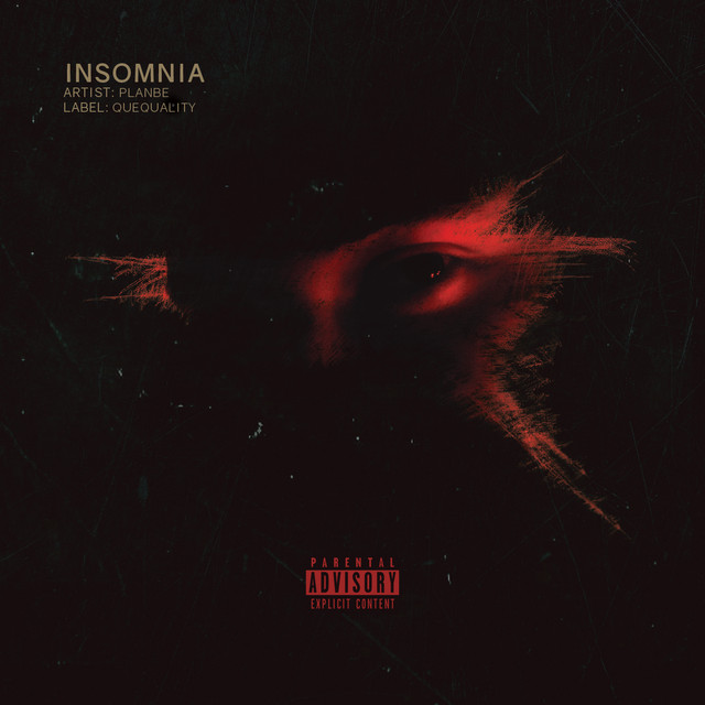 Album cover for Insomnia by PlanBe