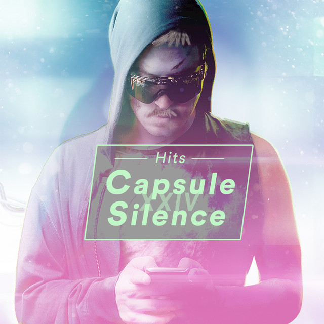 Album cover for Capsule Silence XXIV Original Soundtrack by Anamanaguchi