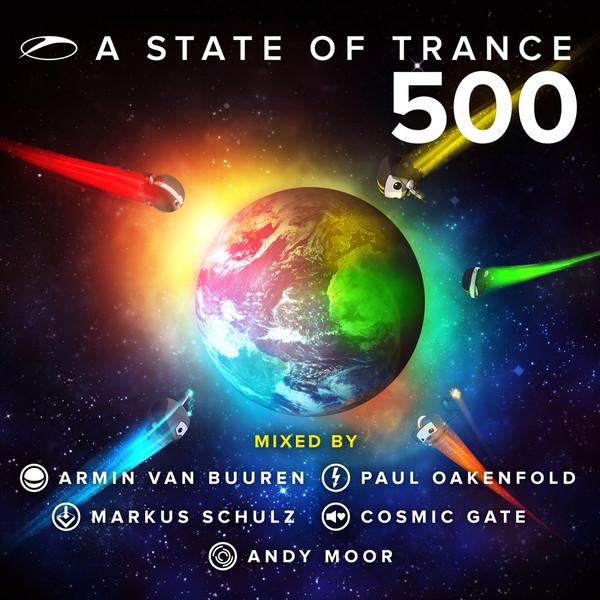 Armin van Buuren A State of Trance 500 album cover