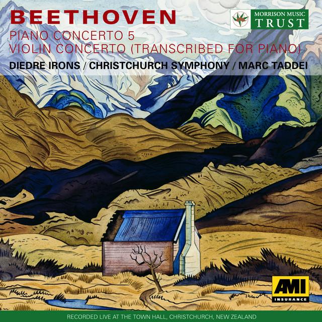 Beethoven: Piano Concerto No. 5 / Violin Concerto (Arr.For Piano) Albumcover