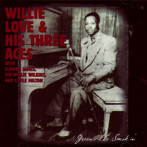 Album cover for Delta Blues - 1951 by Willie Love