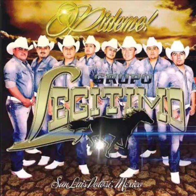 Album cover for Pideme by Grupo Legitimo