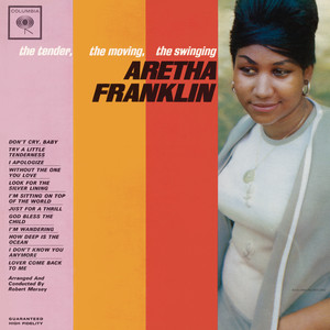 The Tender, The Moving, The Swinging Aretha Franklin Albumcover