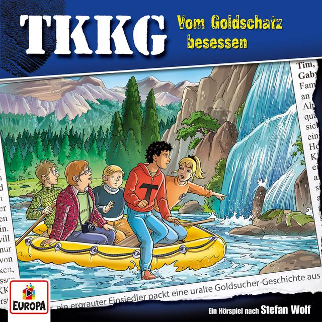 Album cover for 201/Vom Goldschatz besessen by TKKG