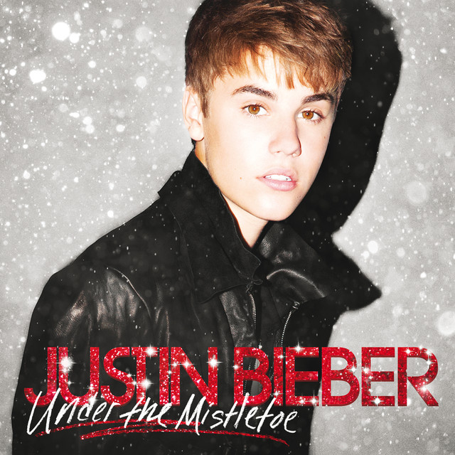 Justin Bieber Under The Mistletoe (Deluxe Edition) album cover