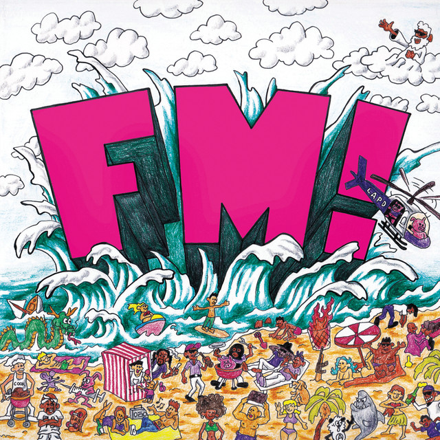 Album cover for FM! by Vince Staples