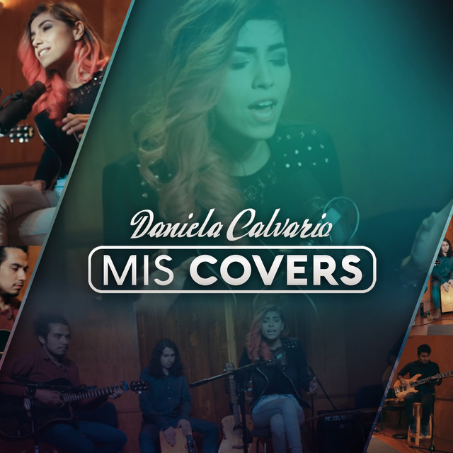 Album cover for Mis Covers by Daniela Calvario