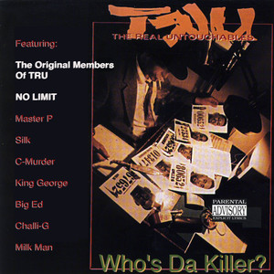 Who's da Killer? Albumcover