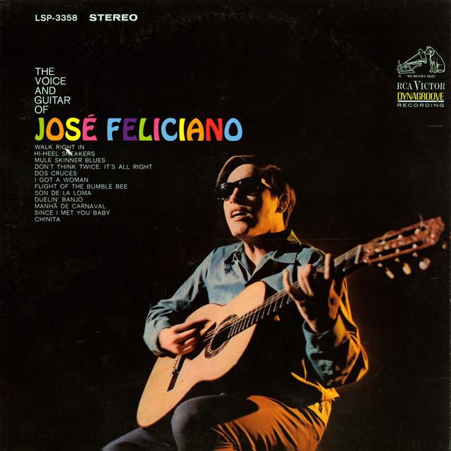 The Voice and Guitar of José Feliciano Albumcover