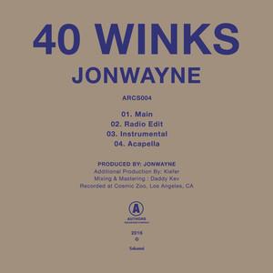 Key & BPM for 40 Winks - Acapella by Jonwayne | Tunebat