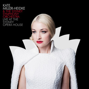Kate Miller‐Heidke, Sydney Symphony Orchestra Words cover