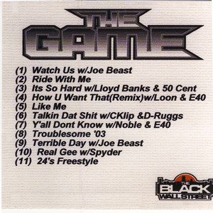 The Game Mix CD Vol. 1 Albumcover