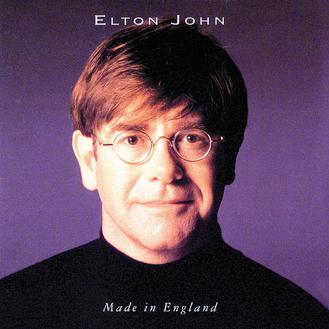 Elton John Made in England album cover
