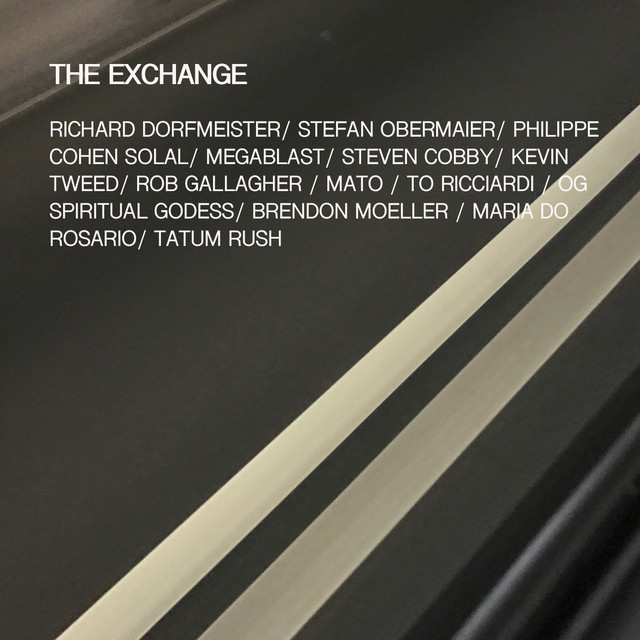 Album cover for The Exchange by Richard Dorfmeister