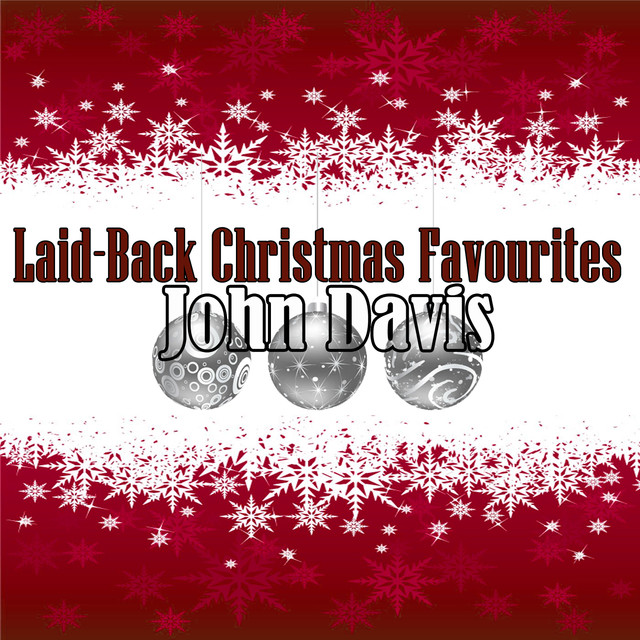 John Davis Laid-Back Christmas Favourites album cover