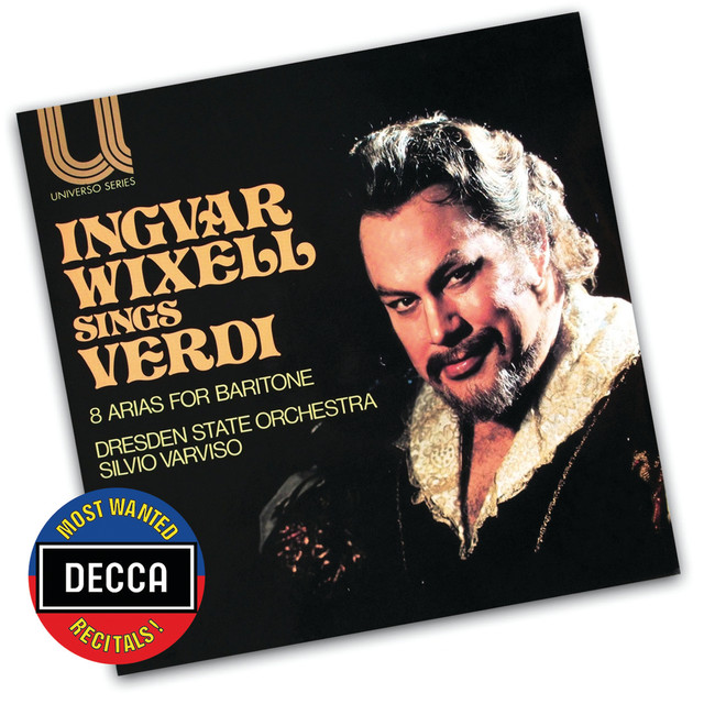 Verdi Arias For Baritone