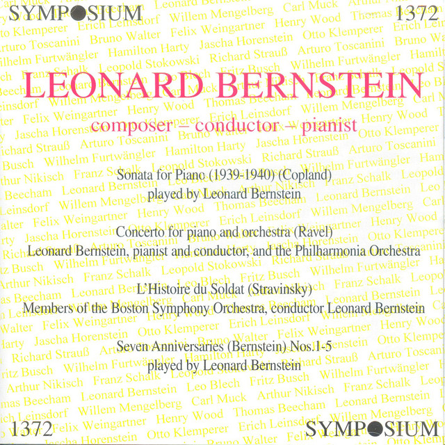 Leonard Bernstein: Composer - Conductor - Pianist Albumcover