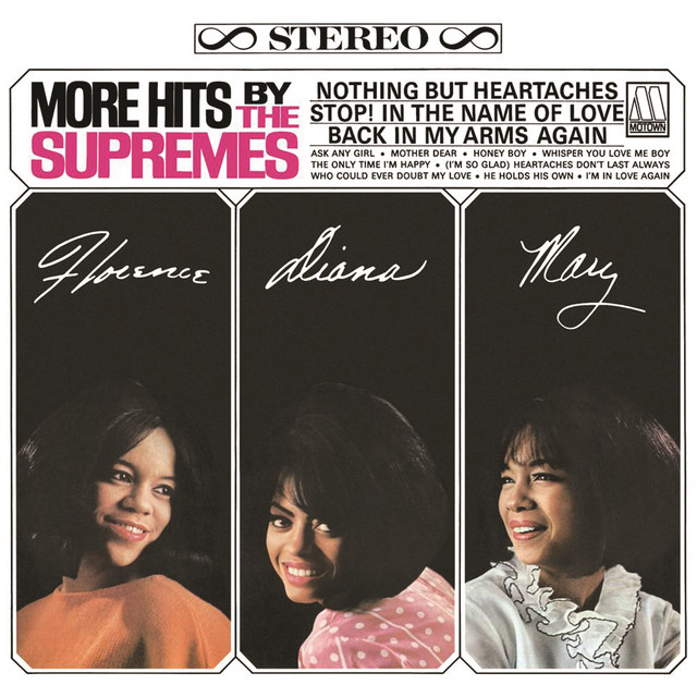 The Supremes The Hits album cover
