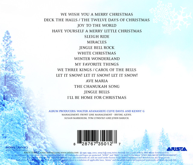 the greatest holiday classics by kenny g on spotify