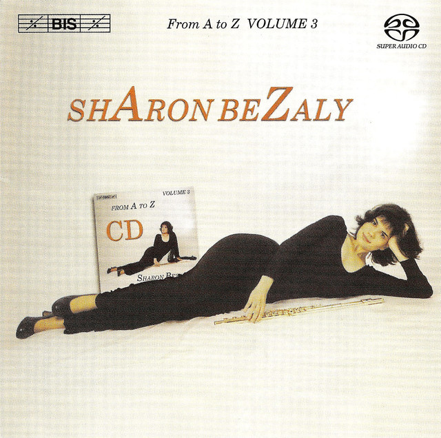 Bezaly: Solo Flute From A To Z, Vol. 3 Albumcover