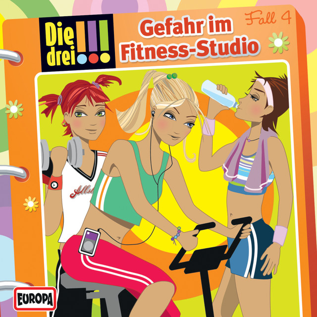 004 - Gefahr im Fitness-Studio Cover