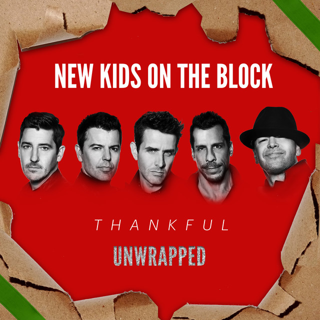 Album cover for Thankful (Unwrapped) by New Kids On The Block