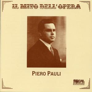 Il mito dell'opera: Piero Pauli Albümü