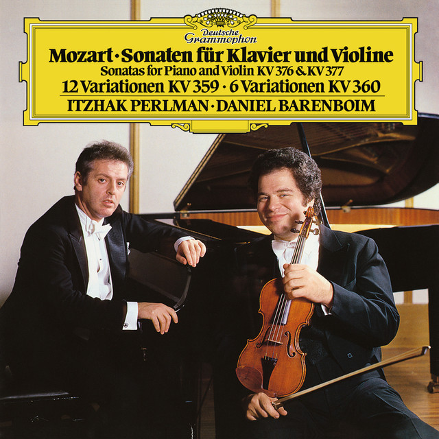 Mozart: Sonatas For Piano And Violin, K.376 & K.377; Variations K.359 & K.360 Albumcover