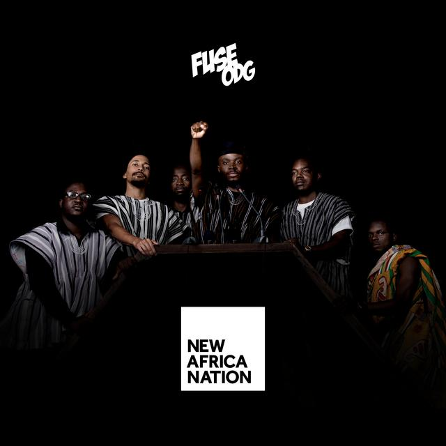 Album cover for New Africa Nation by Fuse ODG