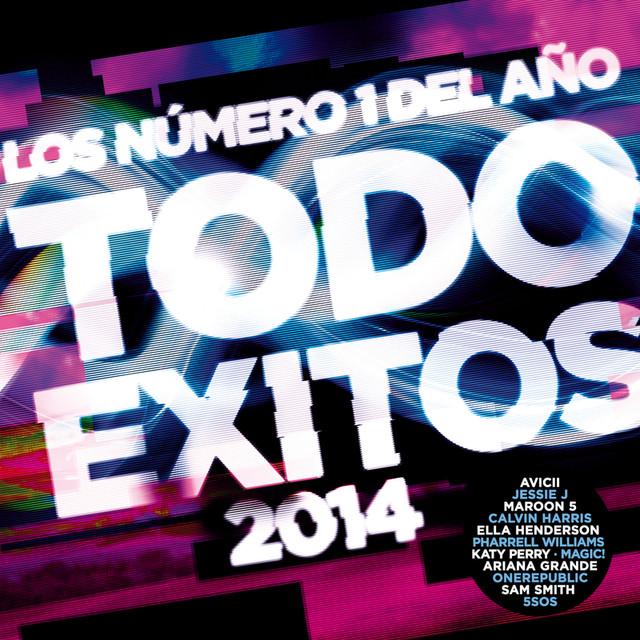 Various Artists Todo Exitos 2014 (Los Número 1 Del Año) album cover