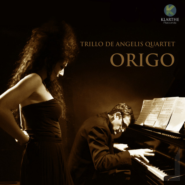 Album cover for Origo by Trillo De Angelis Quartet
