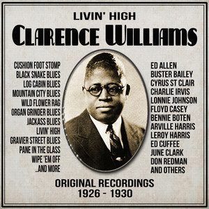 Clarence Williams, Ed Allen, Ed Cuffee, Leroy Harris, Cyrus St-Clair, Floyd Casey Organ Grinder Blues cover