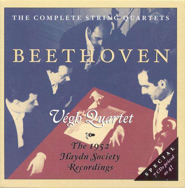 Beethoven: String Quartets Nos  1-16 (Complete) (Vegh Quartet) (1952