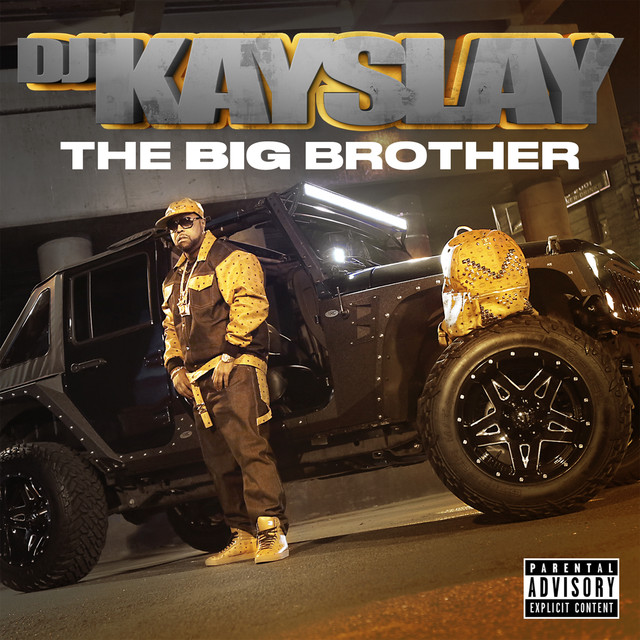 Album cover for The Big Brother by DJ Kay Slay