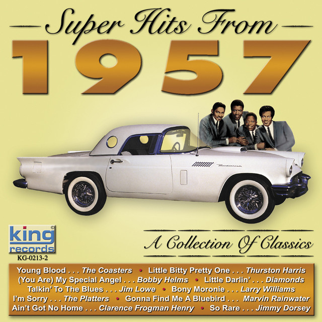 Various Artists Super Hits From 1957 album cover