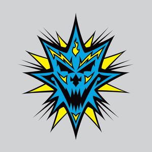 Bang! Pow! Boom! Blue Albumcover