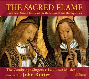 Choral Concert: Cambridge Singers - Gabrieli, G. / Monteverdi, C. / Palestrina, G.P. Da / Lasso, O. Di / Sweelinck, J.P. (The Sacred Flame) Albumcover