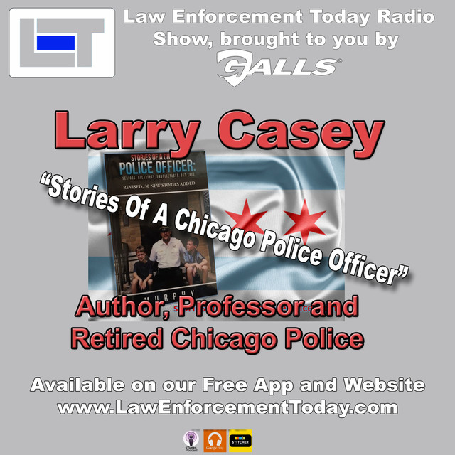 Larry Casey, Retired Chicago Police, Author and College