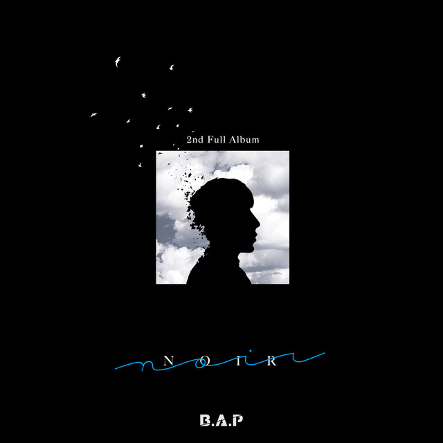 Album cover for NOIR by B.A.P