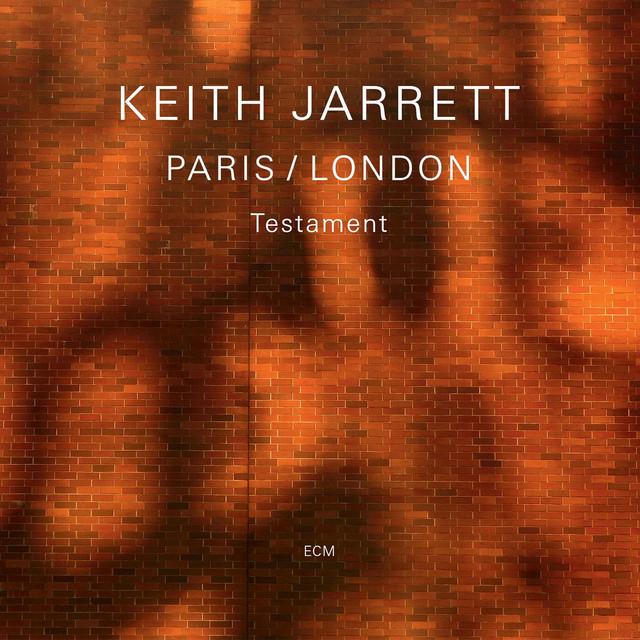 Skivomslag för Keith Jarrett: Paris/London - Testament
