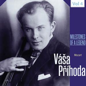 Milestones of a Legend: Váša Příhoda , Vol. 4 Albümü