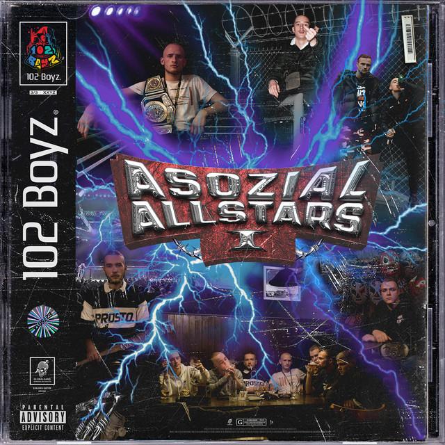 Album cover for Asozial Allstars 1 by 102 Boyz