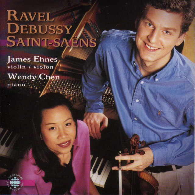 Ravel / Debussy / Saint-Saens: Violin Sonatas Albumcover