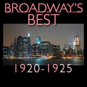 Broadway's Best 1920 - 1925 Albumcover