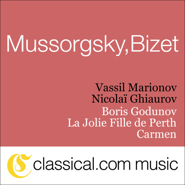 Modest Petrovich Mussorgsky, Boris Godunov