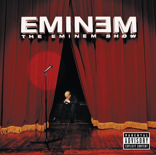 Skivomslag för Eminem: The Eminem Show
