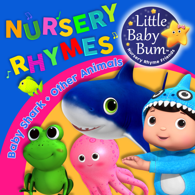 Baby Shark & Other Animal Songs! Fun Music for Children with LittleBabyBum