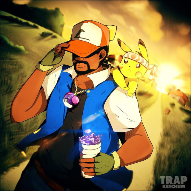 Album cover for Trap Ketchum by Shofu