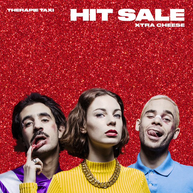 Album cover for Hit Sale Xtra Cheese by Therapie TAXI